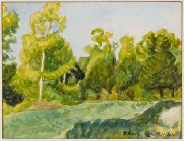 "54. PAUL BURMAN ""Harku mets"" 1920ndate lõpp – 1930ndate algus."