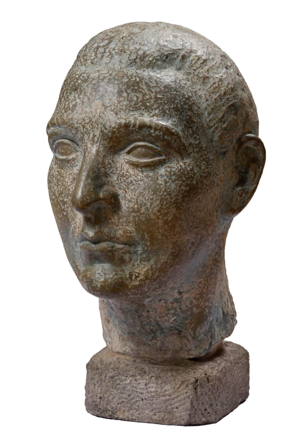 "55. ANTON STARKOPF ""Mehe portree"" 1922-1923"