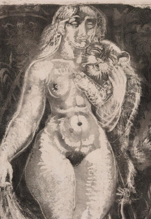 "53. EDUARD WIIRALT ""Naine tiigripojaga"" 1929"