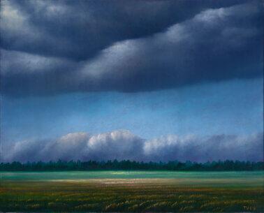 "Toomas Vint ""Vihmahoogude vahel"" 2006. 65 x 81"