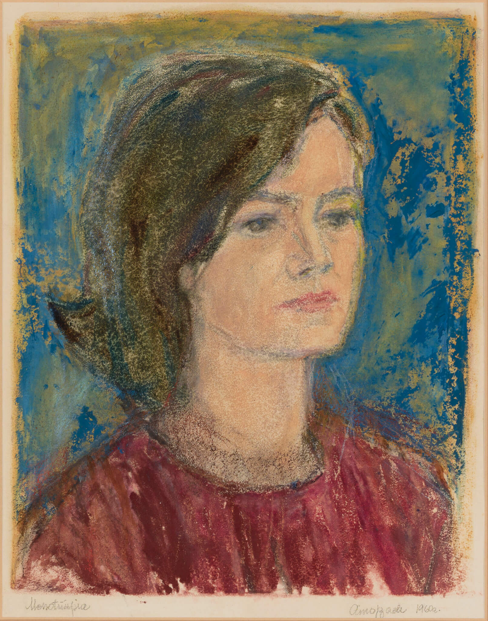 Aino-Bach-Neiu-portree-Allee-galerii-kunstiklassika-oksjon