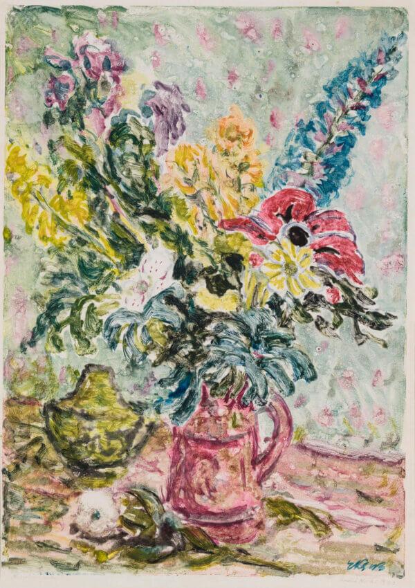 "44. ENDEL KÕKS ""Lilled"" 1943"