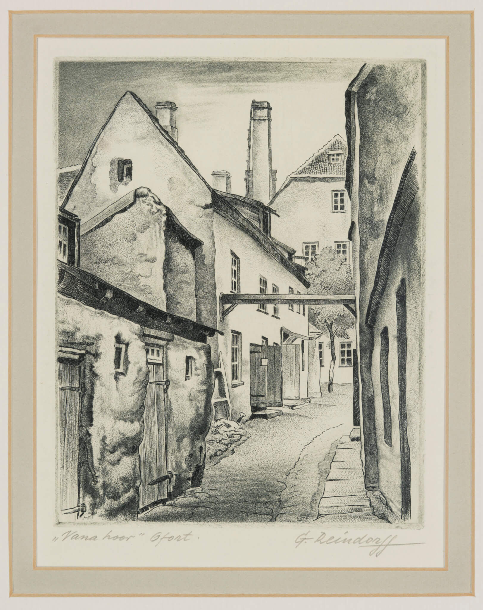 Günter-Reindorff-Vana-hoov-Allee-kunstioksjon