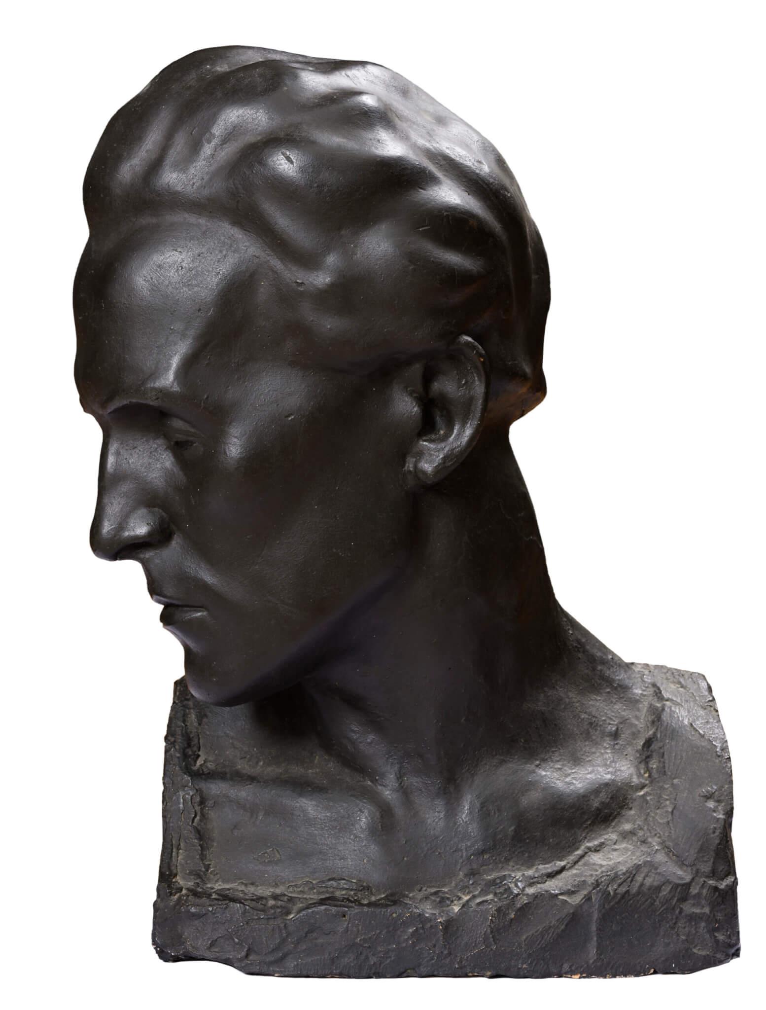 """Herman Halliste """"Ago"""" 1930. 49,5 x 31,5 x 21,2"""