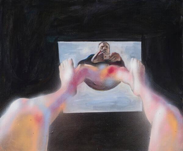 Jaan-Toomik-sooneutraalne-selfi-Allee-galerii-kunstioksjon