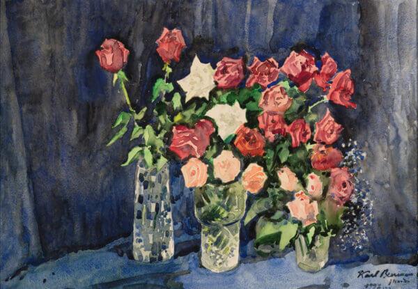 "08. KARL BURMAN JR ""Vaasid roosidega"" 1992"