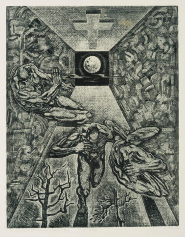 "Renaldo Veeber ""Kustutatud planeet"" 1980. 76 x 60"