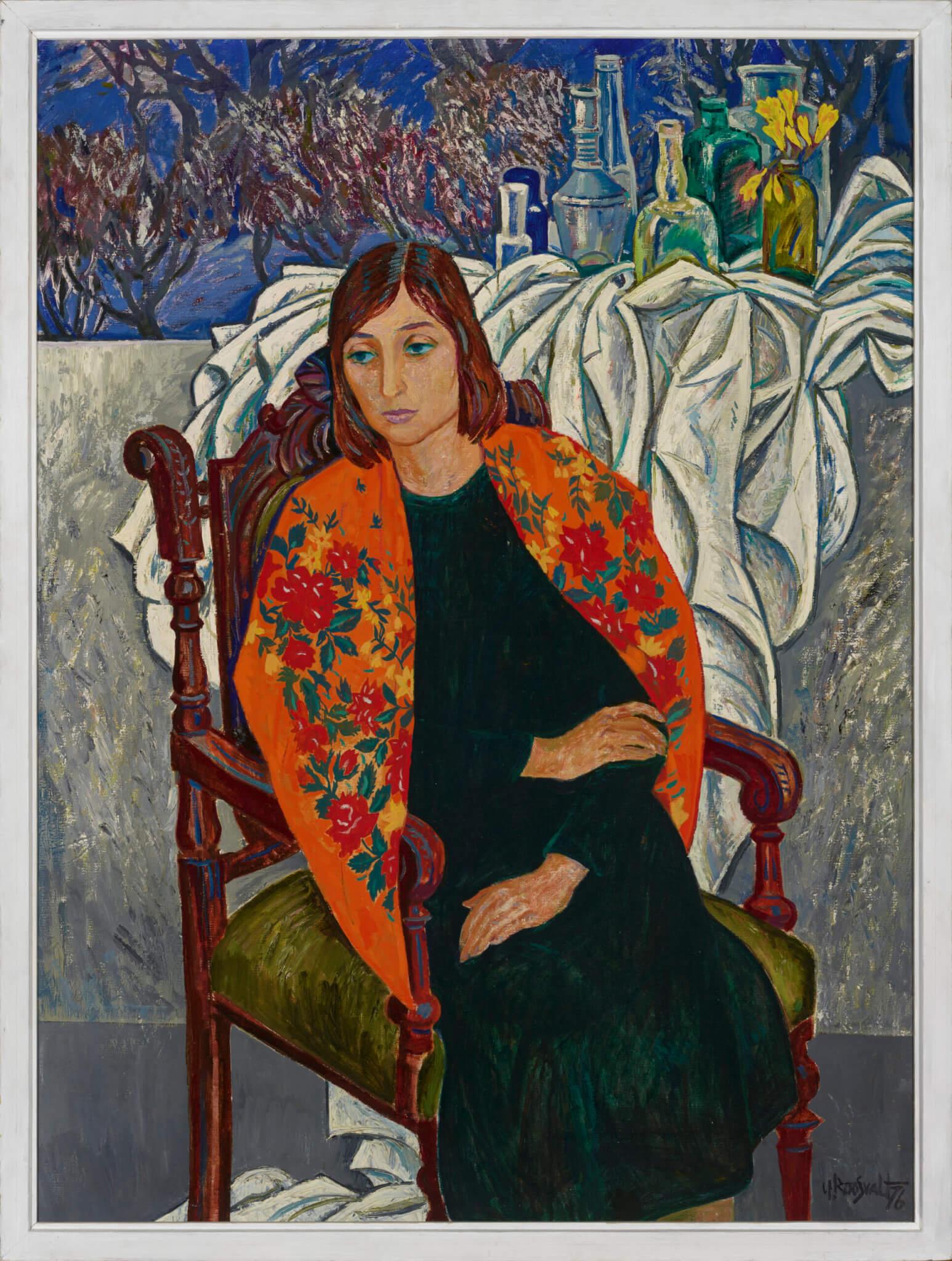 Uno-Roosvalt-portree-salliga-Moskva-näitusel
