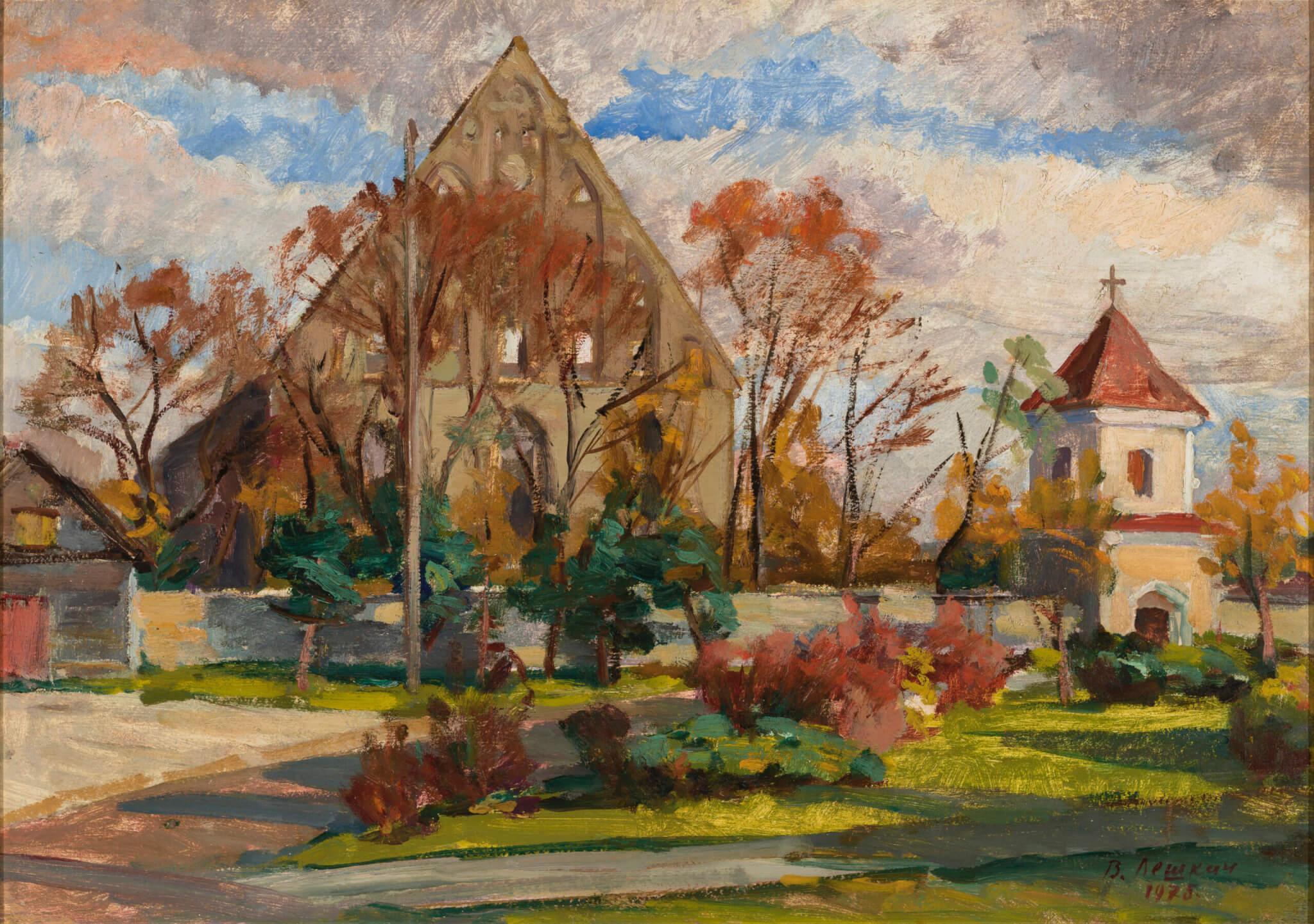 Viktor Leškin. Pirita klooster. Allee galerii