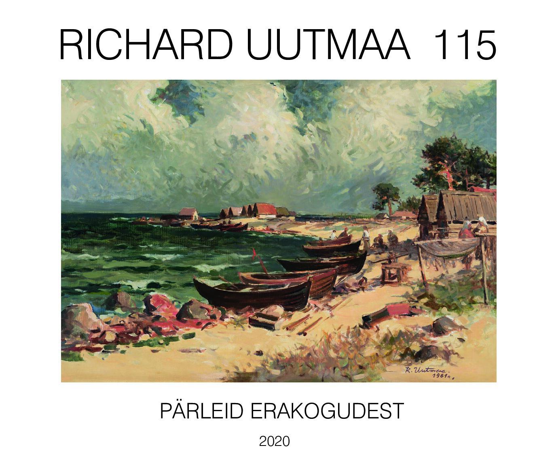 """Näitusekataloog """"Richard Uutmaa 115 – pärleid erakogudest"""", 2020"""