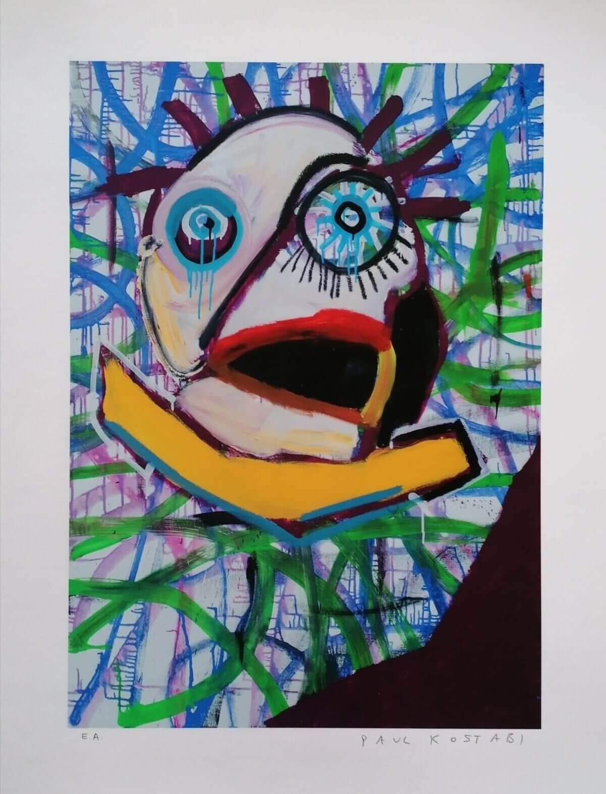 Paul-Kostabi-kunst-müük