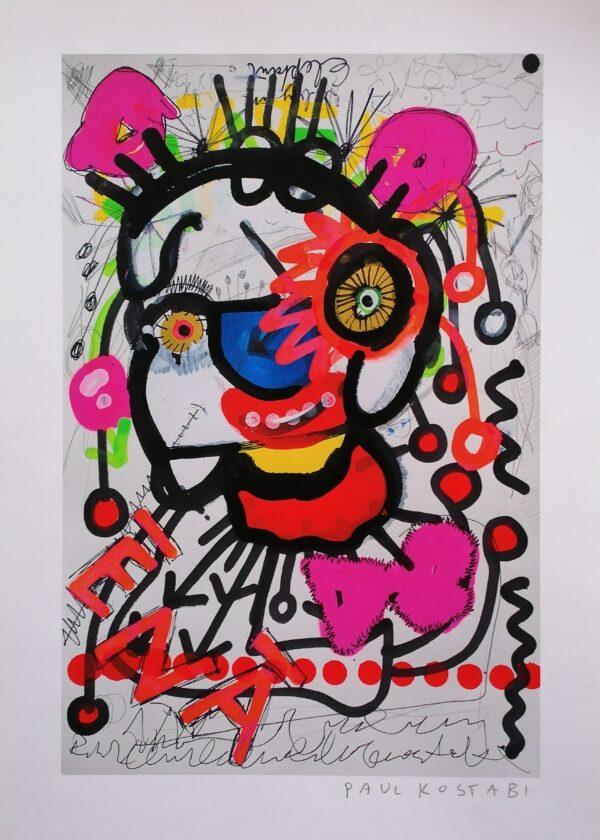 Paul-Kostabi-kunst-müüa