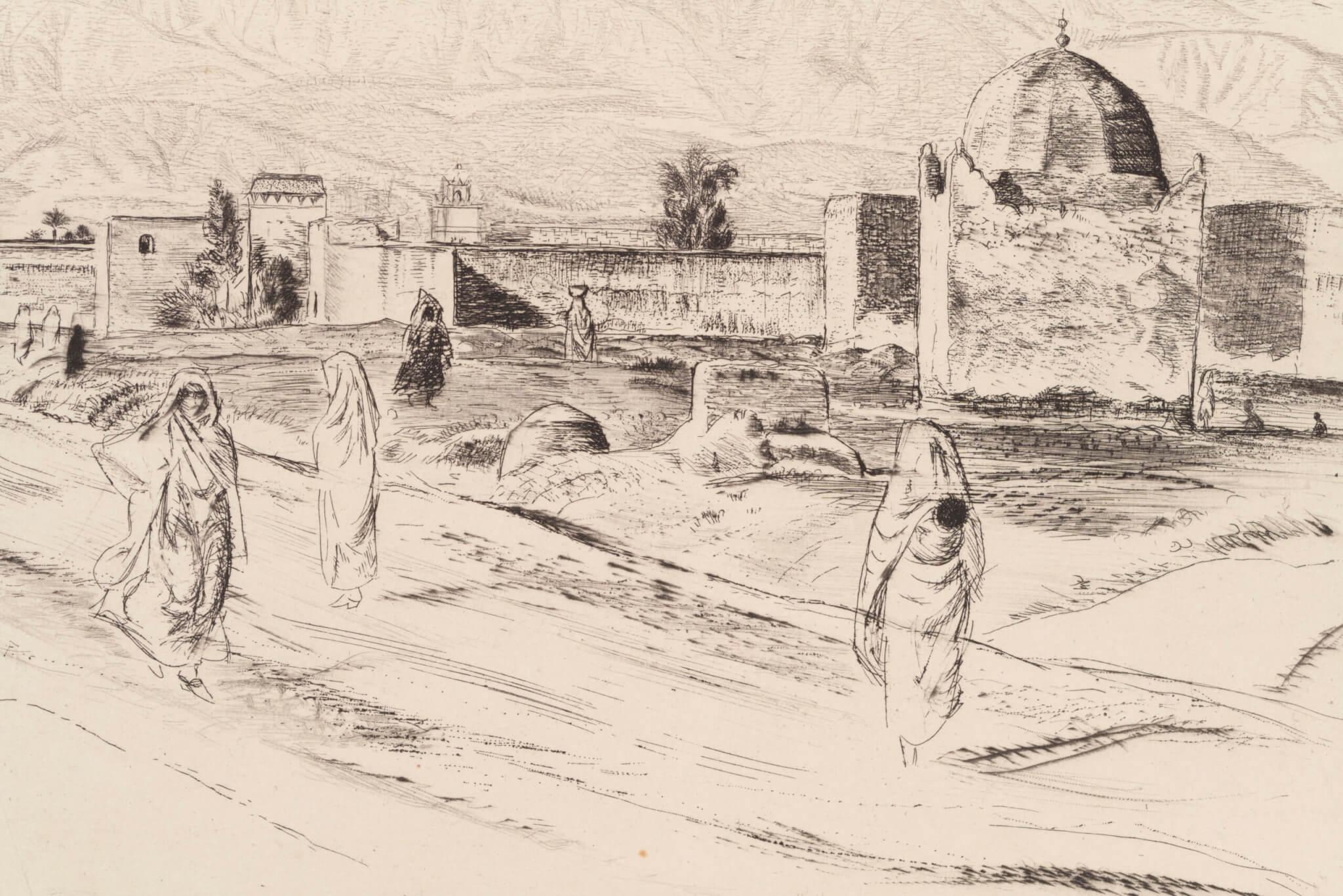 Eduard-Wiiralt-Marrakeši-linnamüür-oksjonil