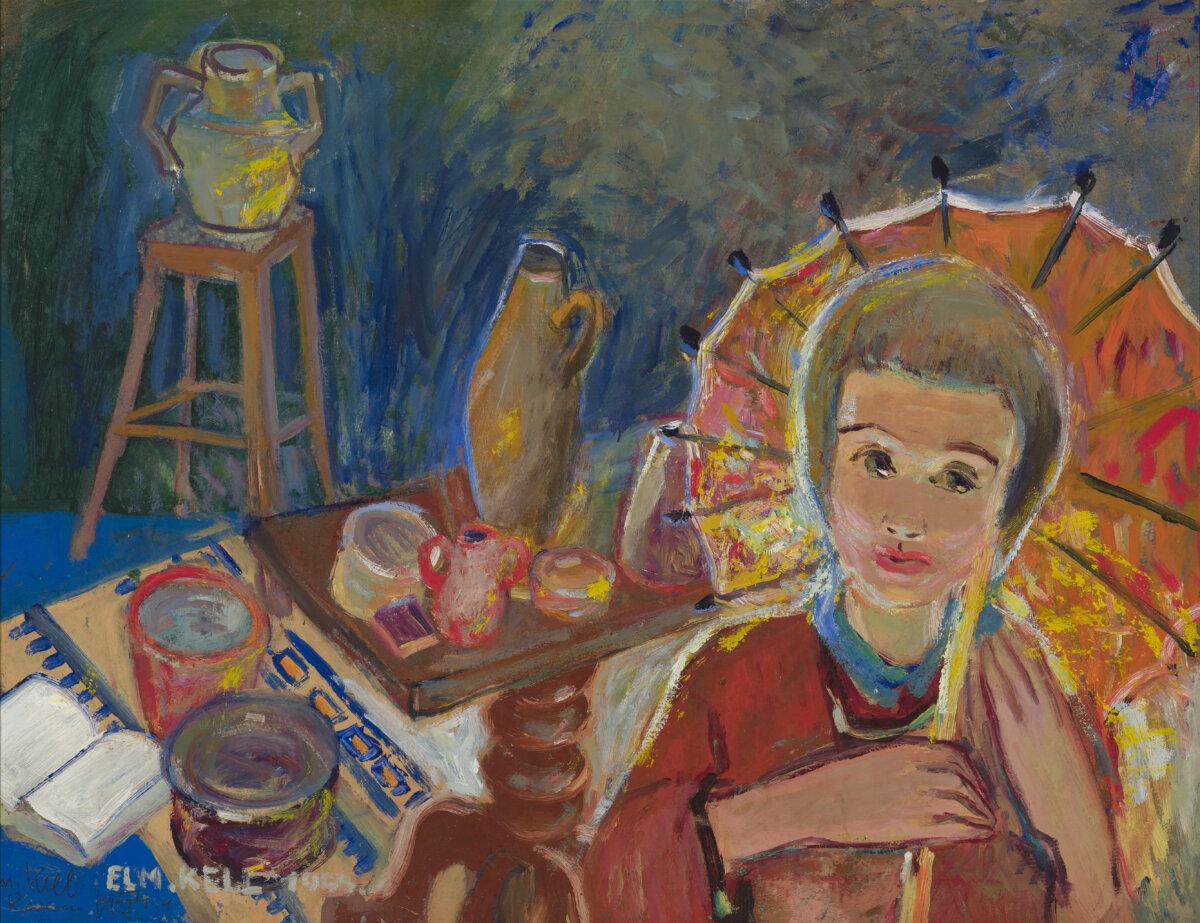 Elmar-Kell-tüdruk-päevavarjuga-Allee-galerii