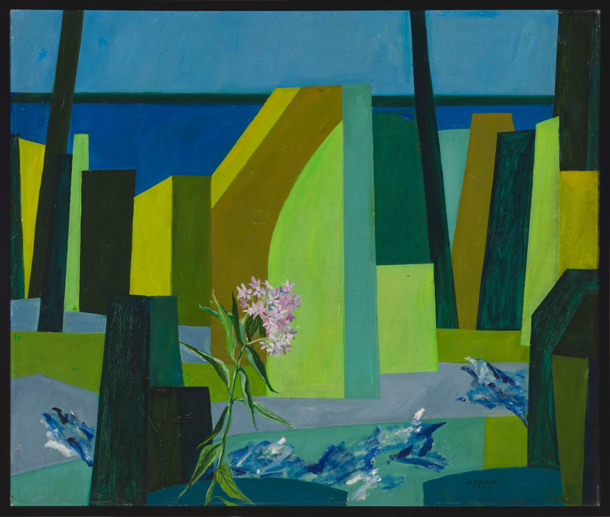 Mari-Roosvalt-maal-Augustikuu-Allee-galerii-kunstioksjon