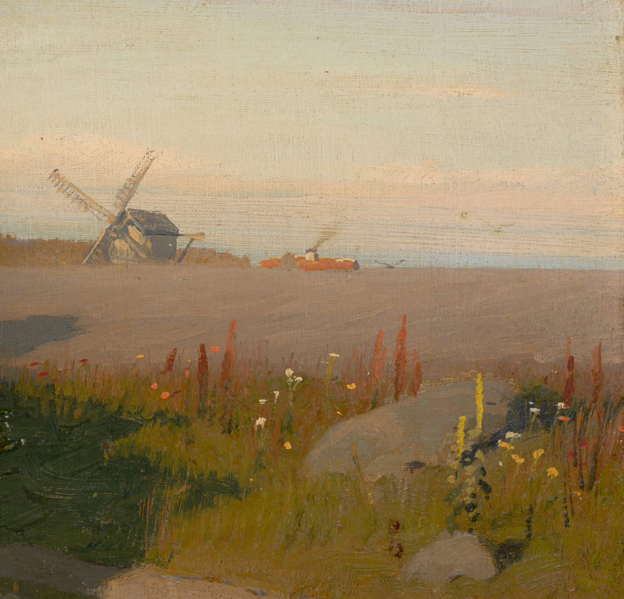 Oskar-Hoffmann-Teel-õlimaal-kunstioksjon