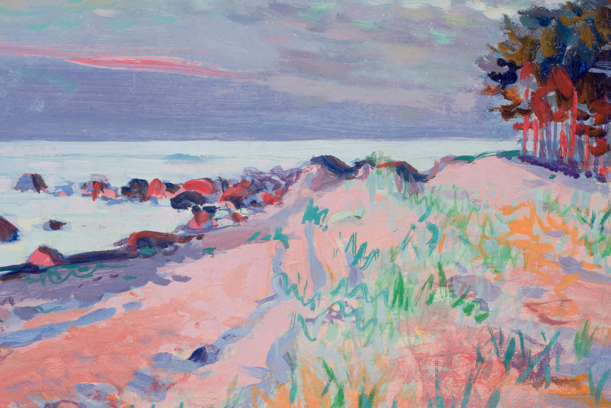 Richard-Uutmaa-Õhtuvalgus-rannal