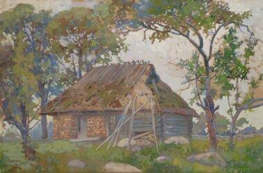 Roman-Nyman-Antsu-talu-ait-tempera-kunstioksjon