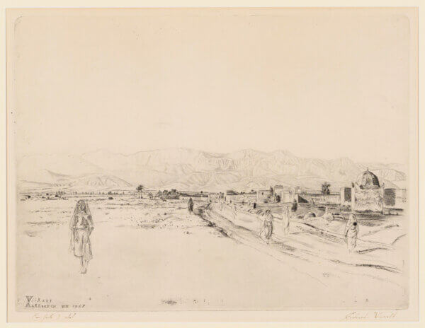 Eduard-Wiiralt-Marrakeši-linnamüür