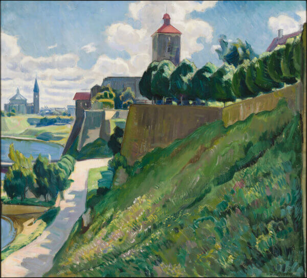 "6. AUGUST JANSEN ""Narva Hermanni kindlus"" 1934"