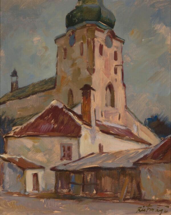 """12. ALEKSANDER RISTMÄGI """"Tallinna Toomkirik"""" 1942"""