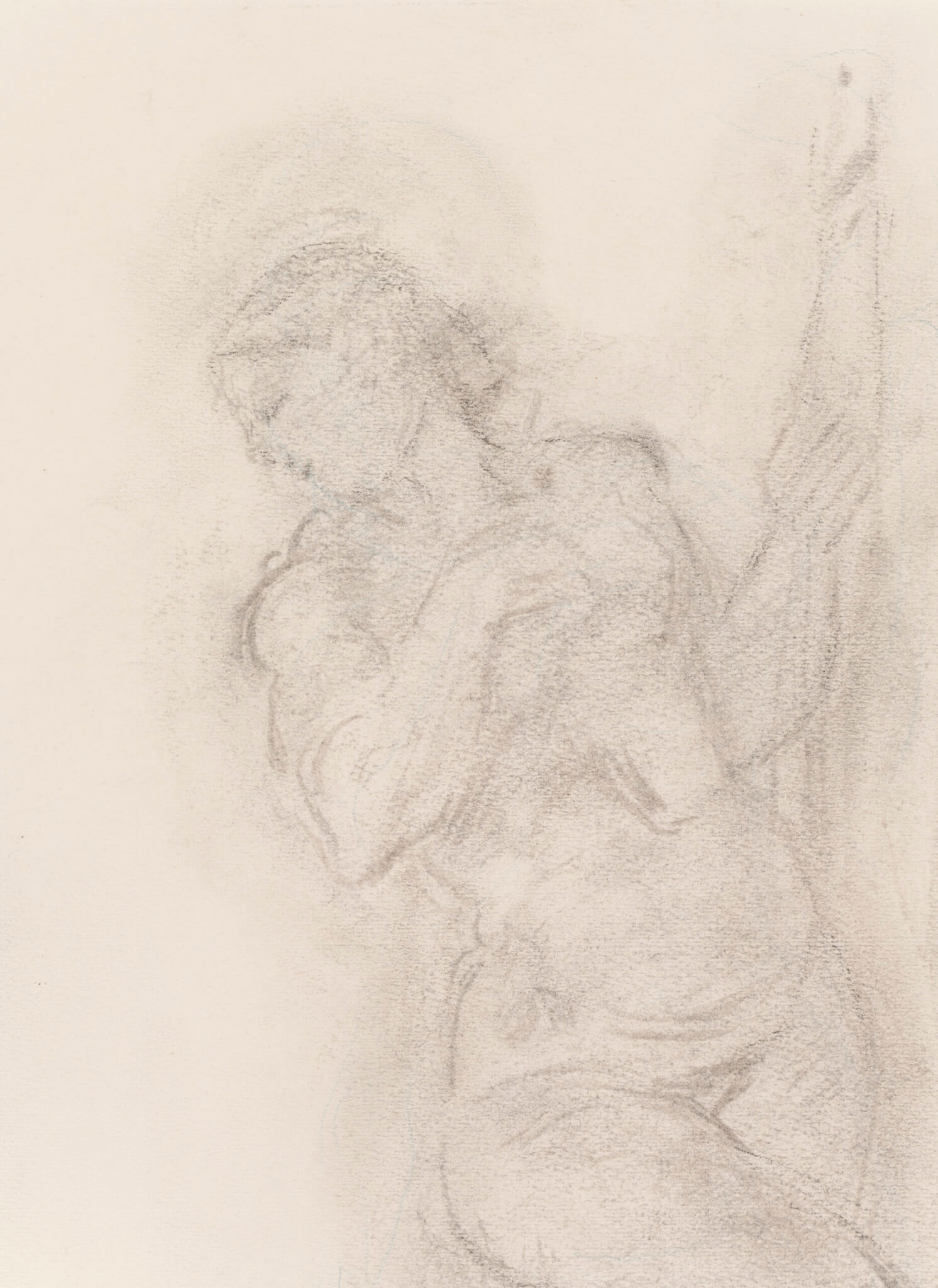 "Ado Vabbe ""Eeva maoga"", 1950ndad. 45,5 x 30 cm."