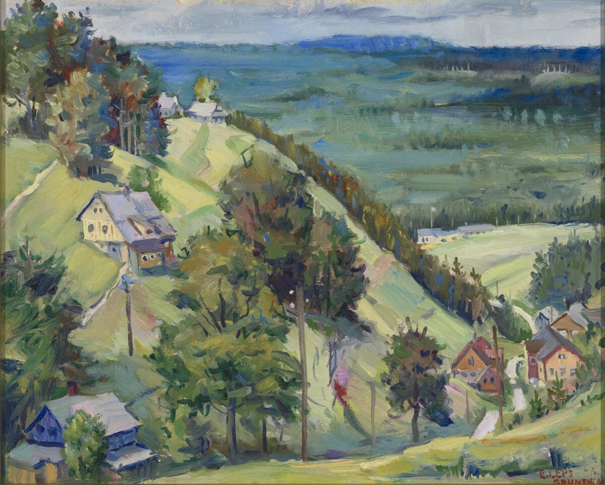 """15. ERICH LEPS """"Grunewald"""" 1943"""