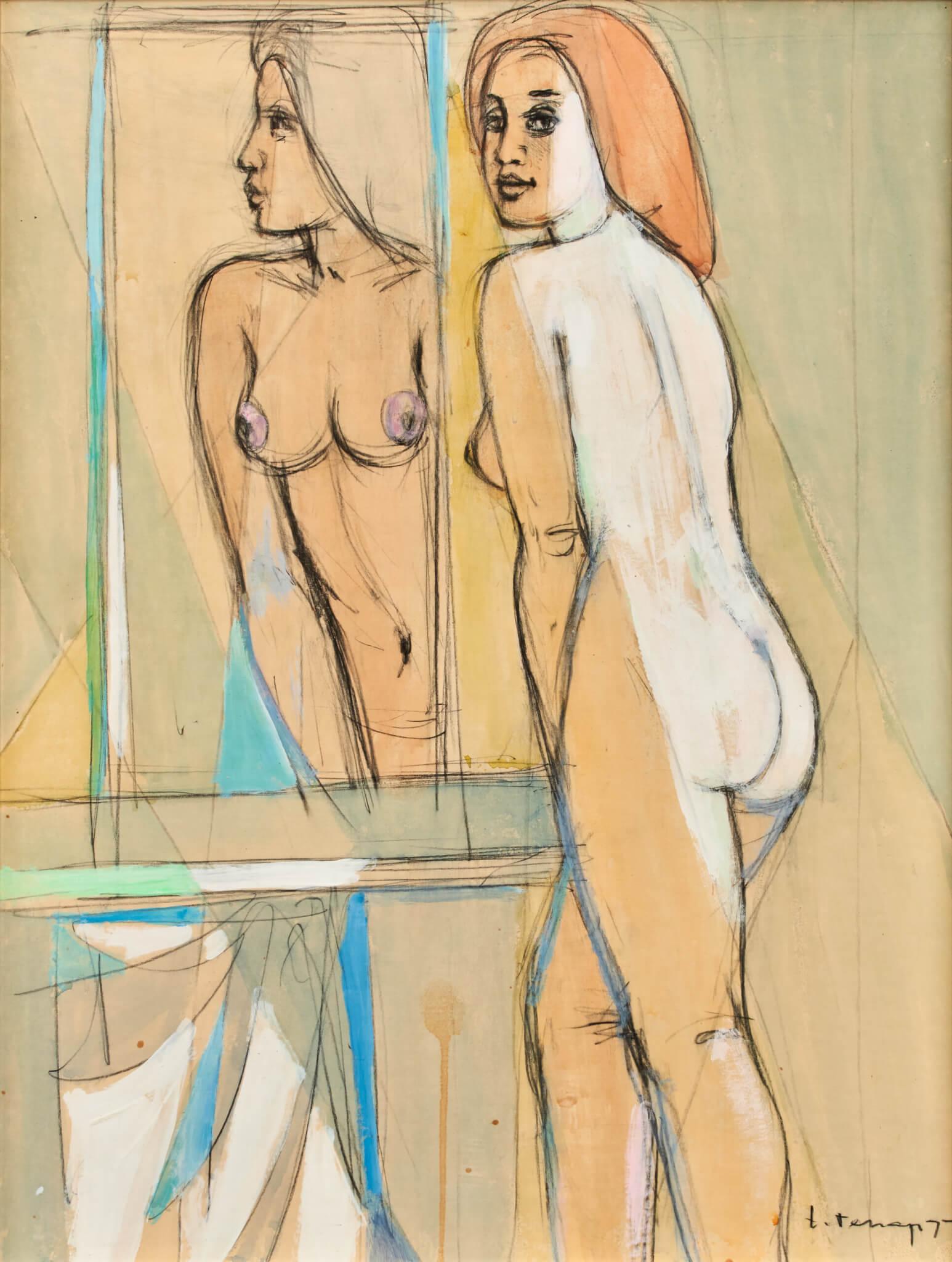 Erich-Pehap-maal-modell-kunstioksjon