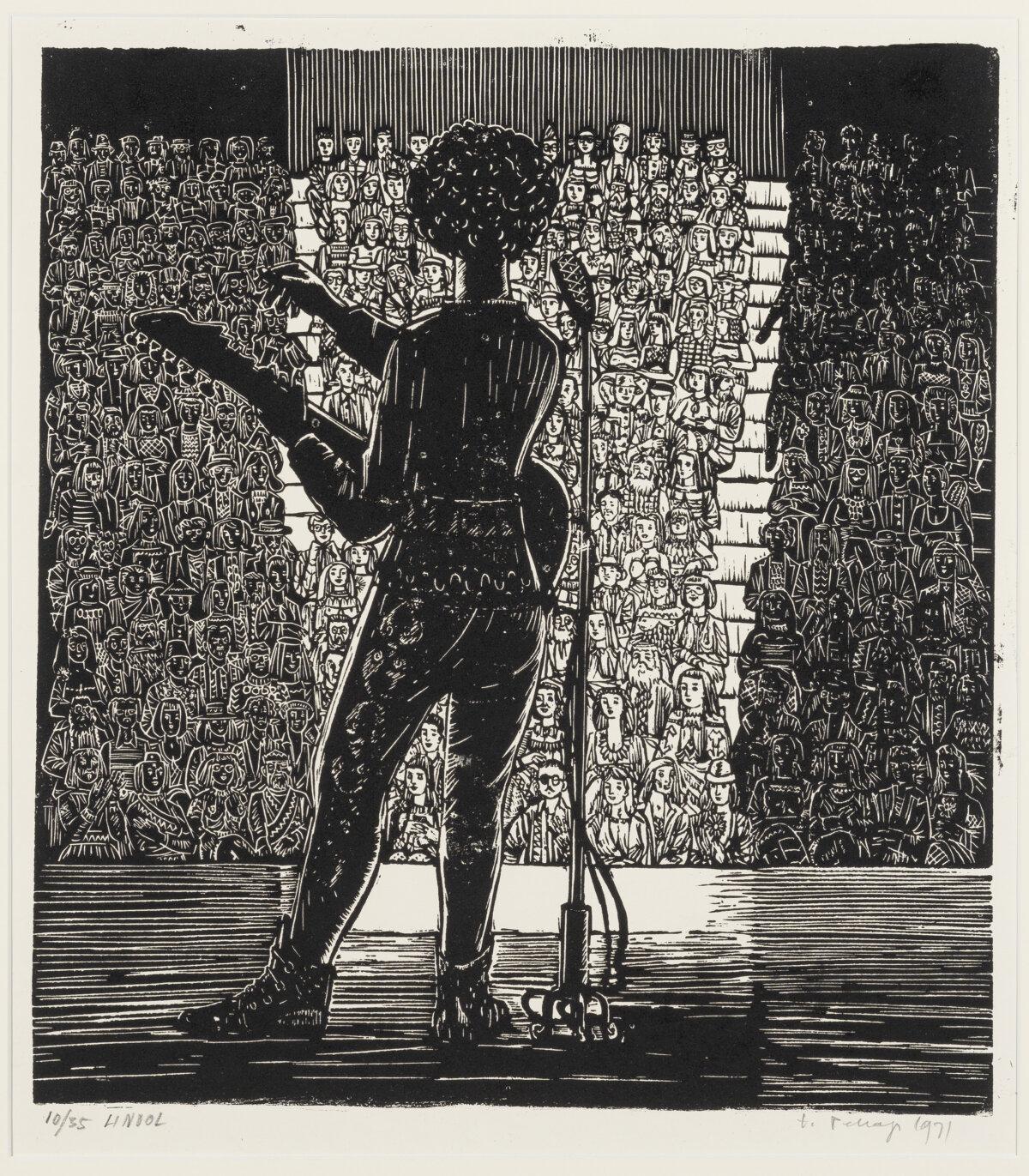 """43. ERICH PEHAP """"Rock-kontsert"""" 1971"""