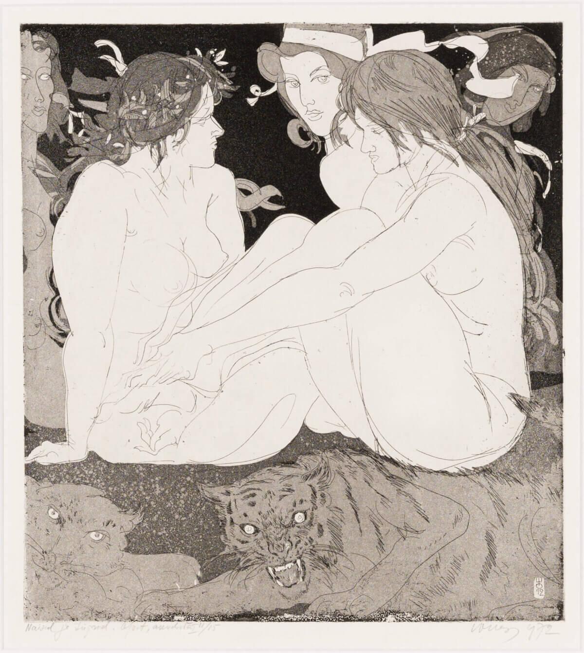 """44. EVALD OKAS """"Naised ja tiigrid"""" 1972"""