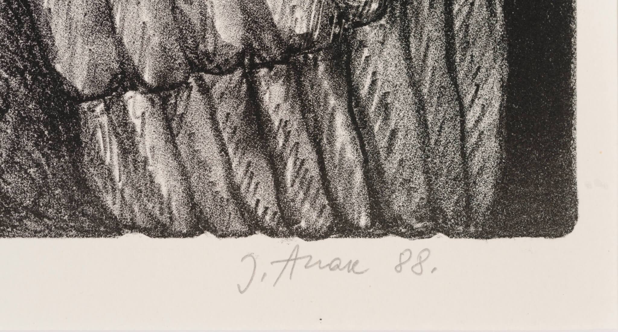 """Jüri Arrak """"Vestlus linnuga"""", 1988."""