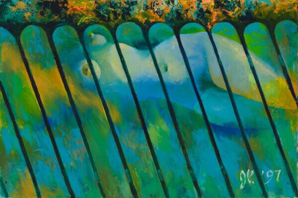 "67. JÜRI PALM ""Akt aias"" 1997"