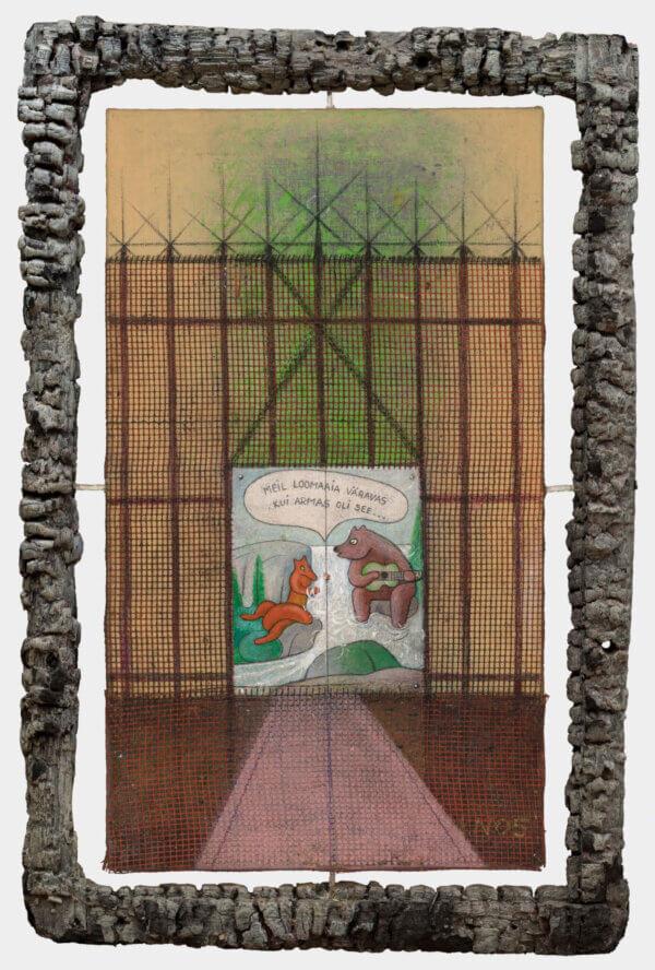 """72. LEMMING NAGEL """"Loomaaia väravas"""" 2005"""