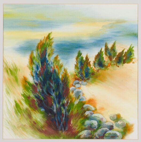Milvi-Torim-Kadakad-akvarell-müüa