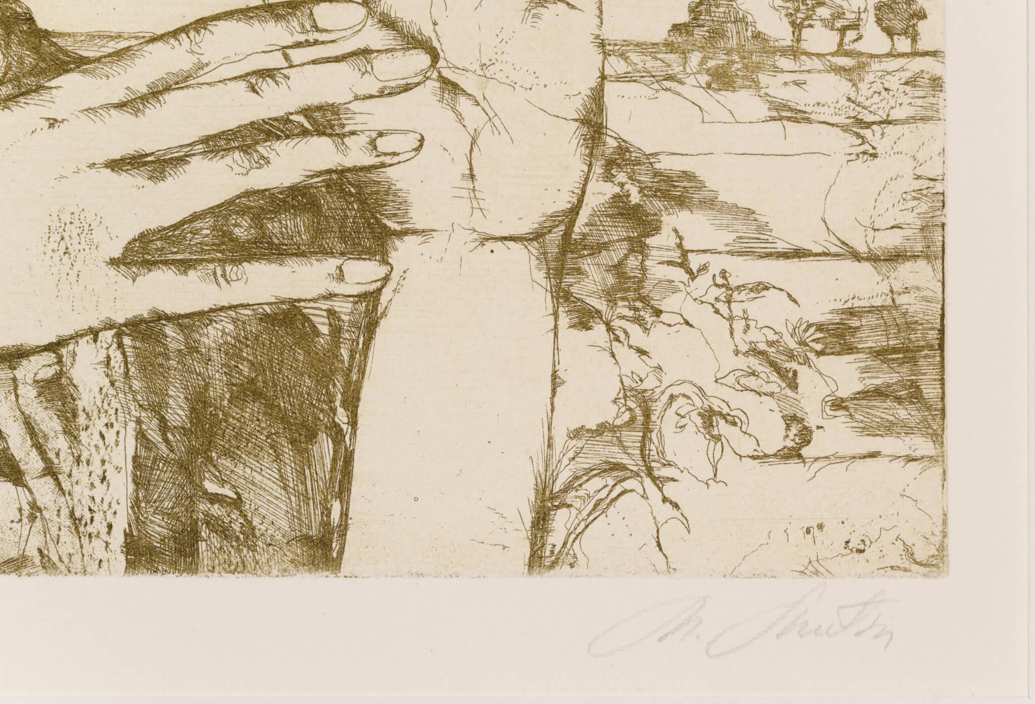 """Marju Mutsu """"Noor tüdruk"""", 1972. 18,9 x 27,6 cm."""