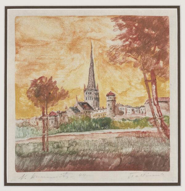 """16. NIKOLAI KUMMITS """"Tallinn"""" 1944"""