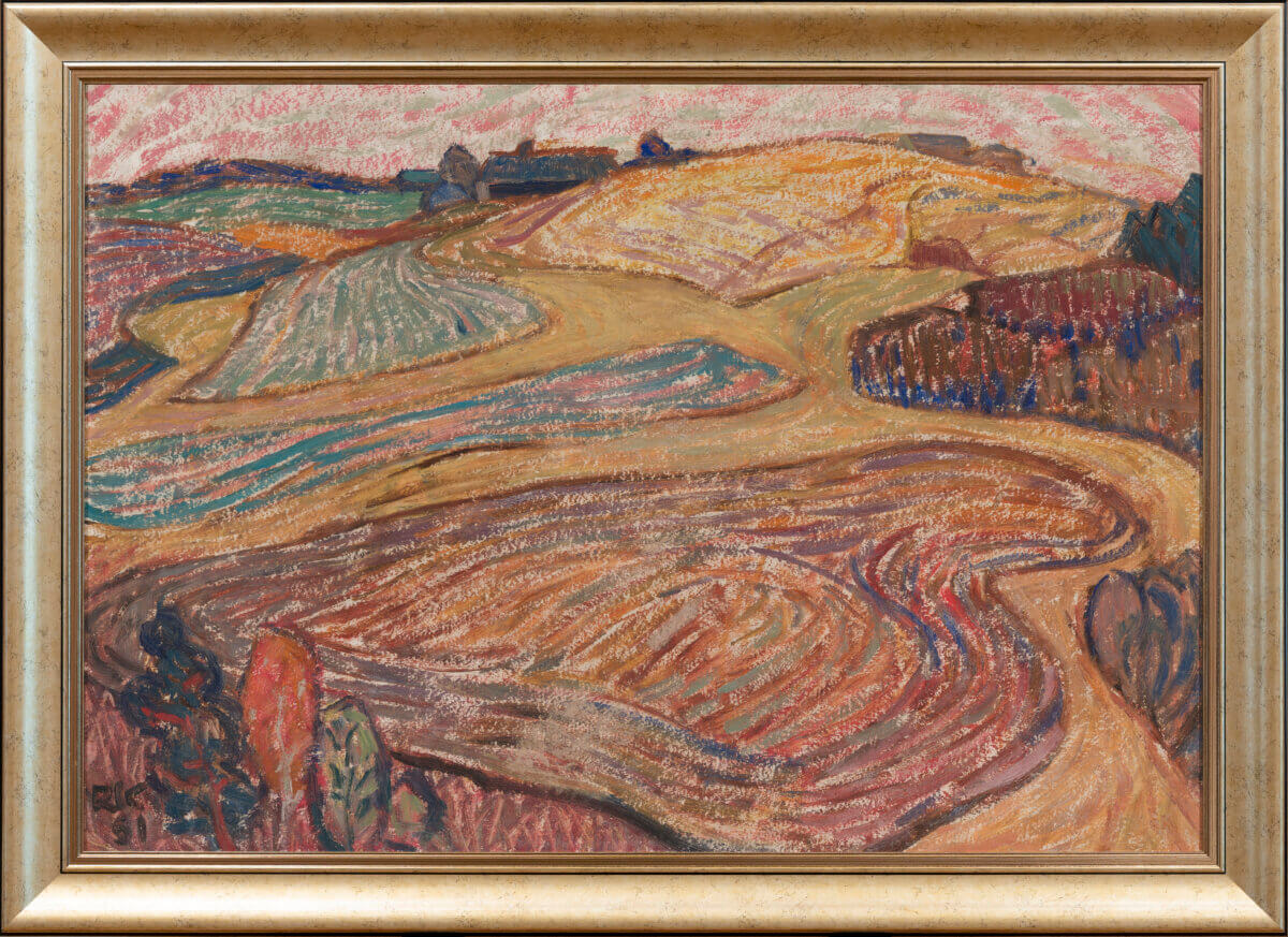 Raivo-Korstnik-maal-kunstioksjon