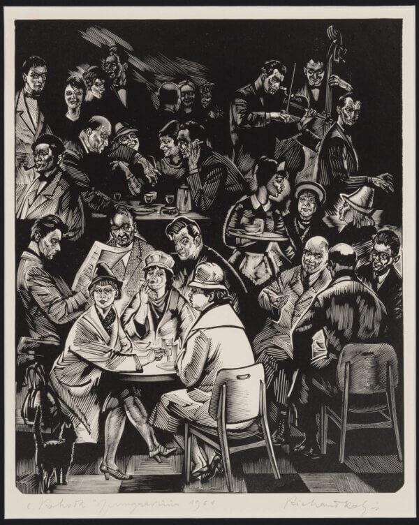 """32. RICHARD KALJO """"Kohvik"""" 1961"""