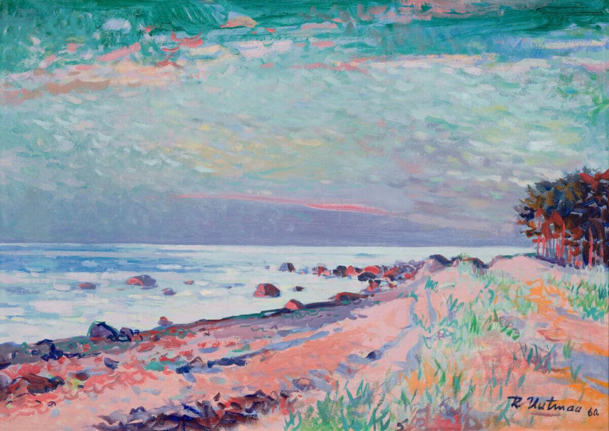 "26. RICHARD UUTMAA ""Õhtuvalgus rannal"" 1960"