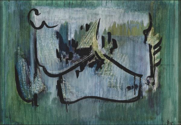 """37. SILVIA JÕGEVER """"Abstraktsioon"""" 1965"""