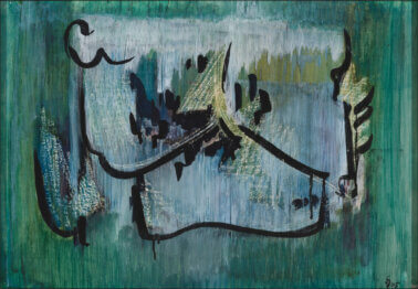 Silvia-Jõgever-Abstraktsioon-rohelisel-oksjon