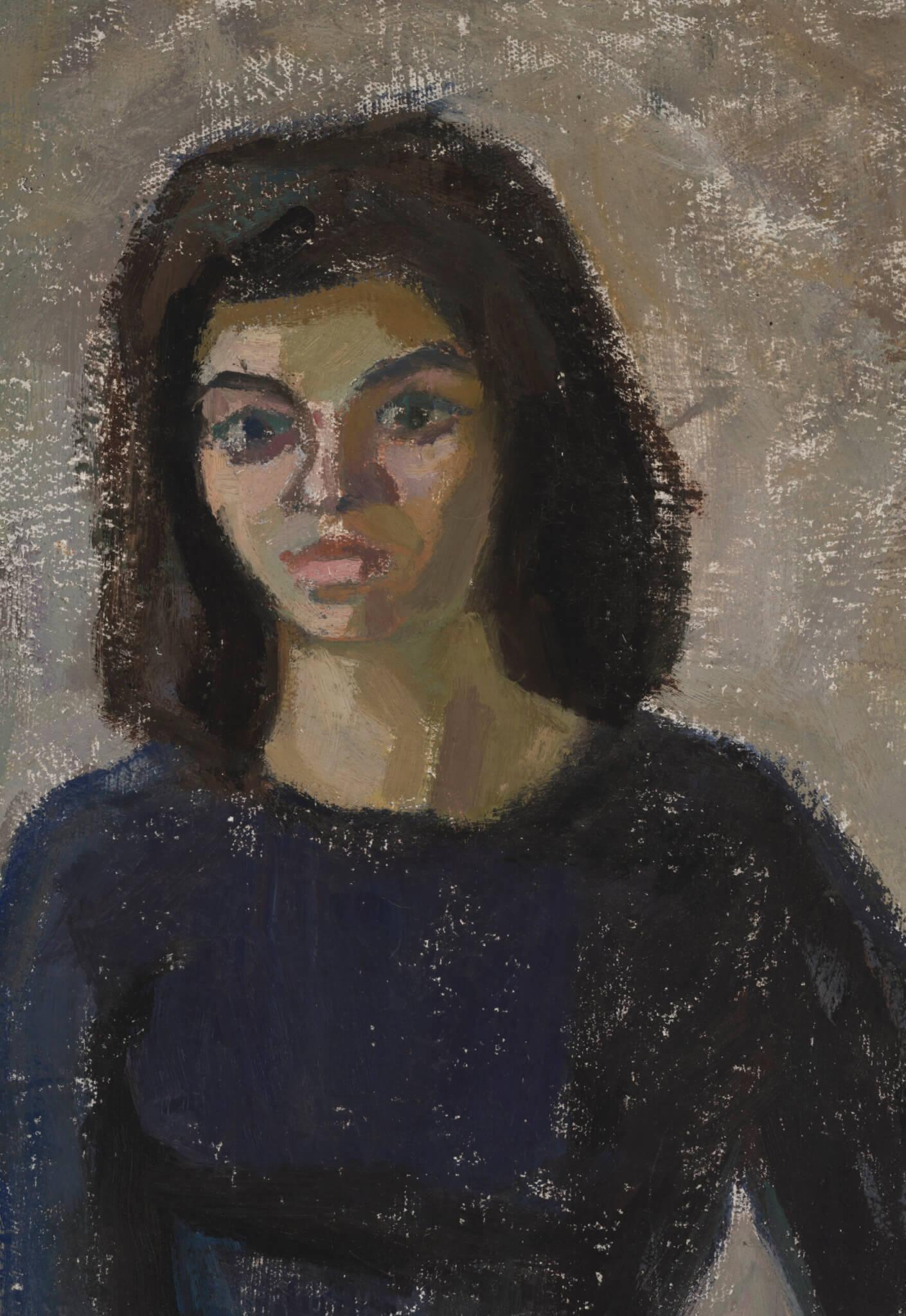 Uno-Roosvalt-maal-Bibi-portree