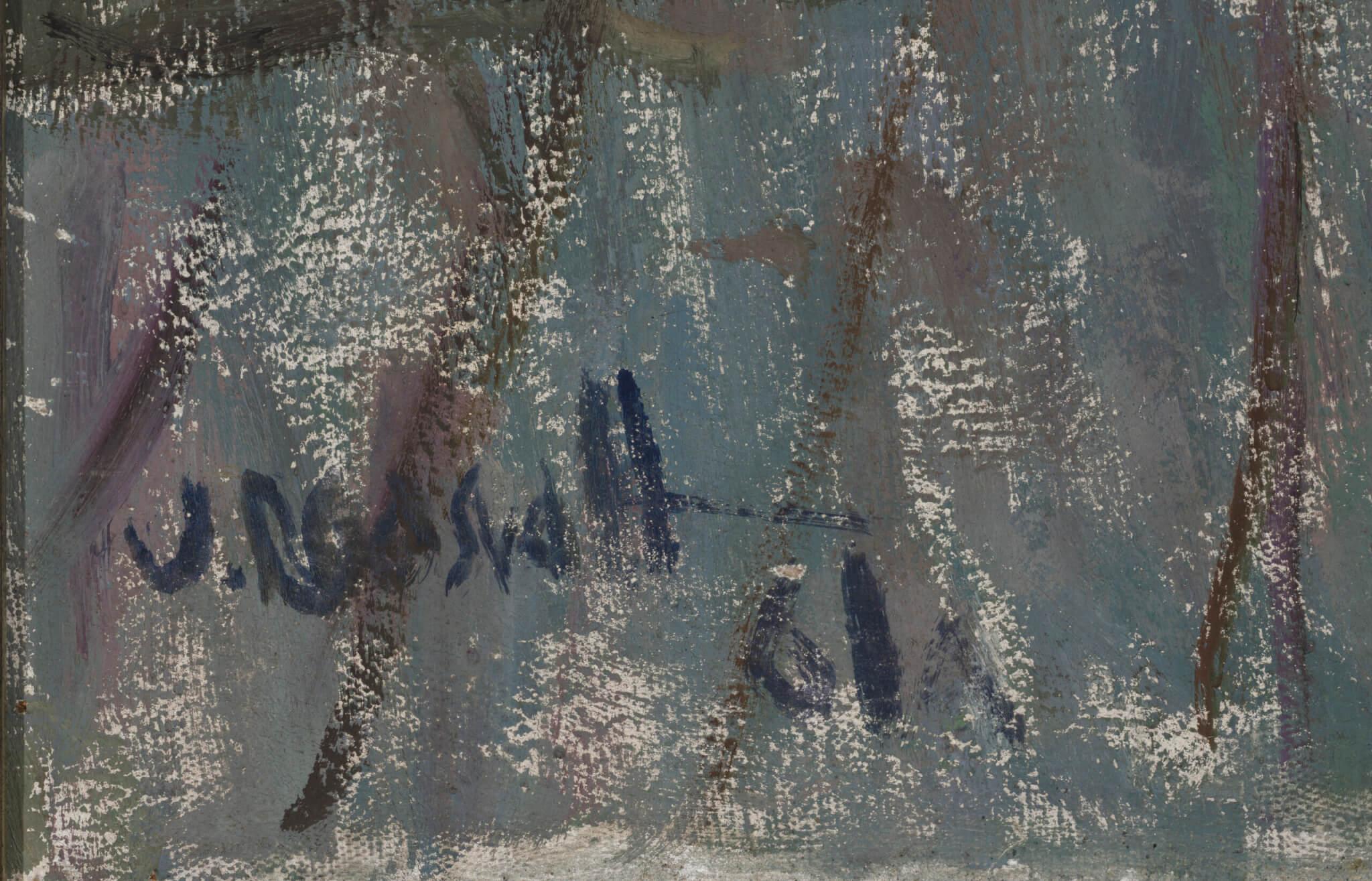 "Uno Roosvalt ""Bibi"", 1961. 100 x 80 cm."