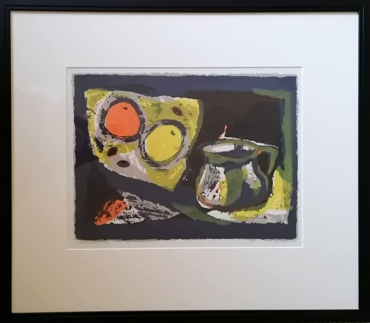 "Evi Tihemets ""Natüürmort"", 1964"
