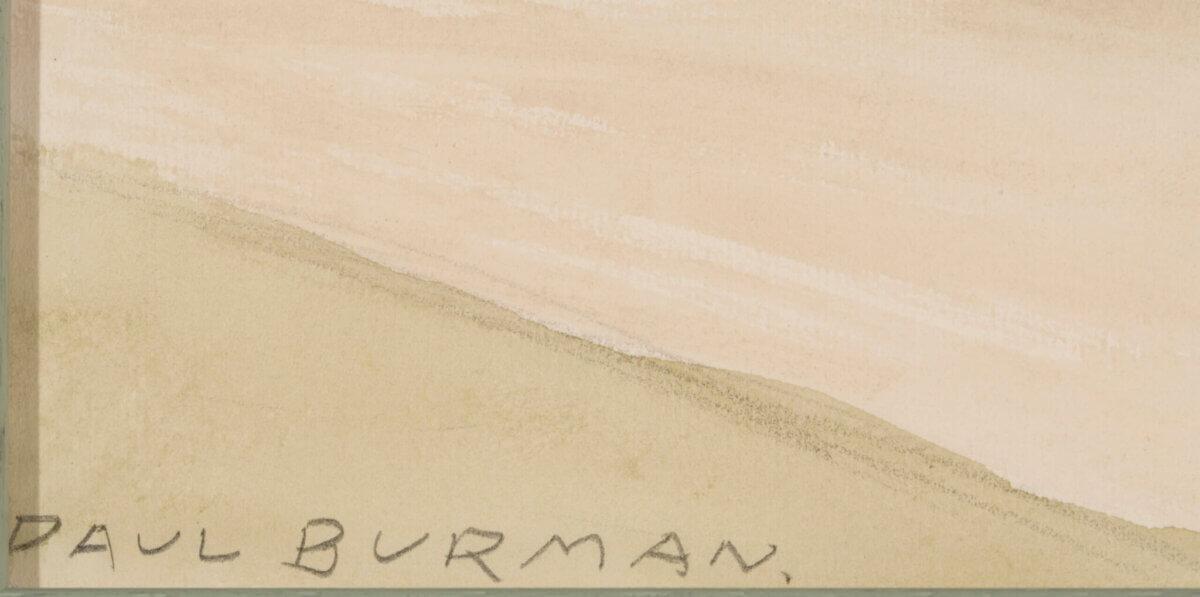 """Paul Burman """"Varakevad"""", 1920ndate lõpp"""