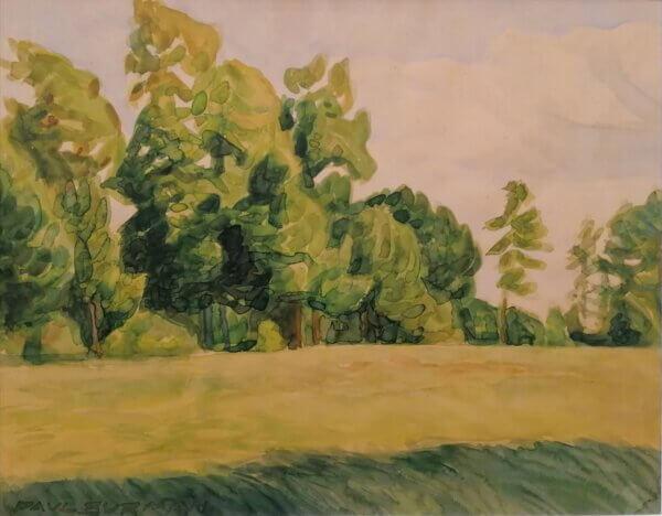 Paul-Burman-akvarell