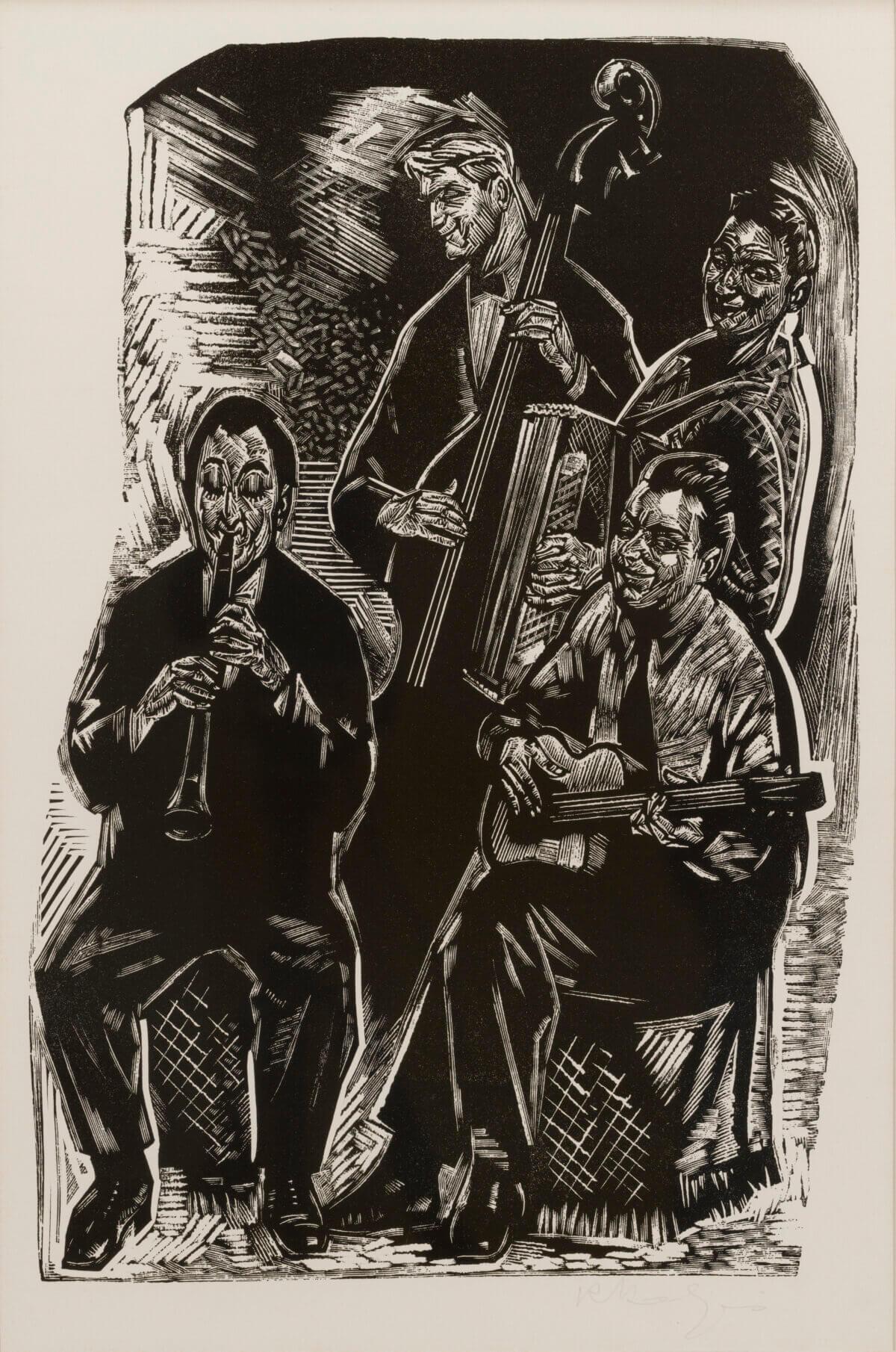 """Richard Kaljo """"Kvartett"""", 1965."""
