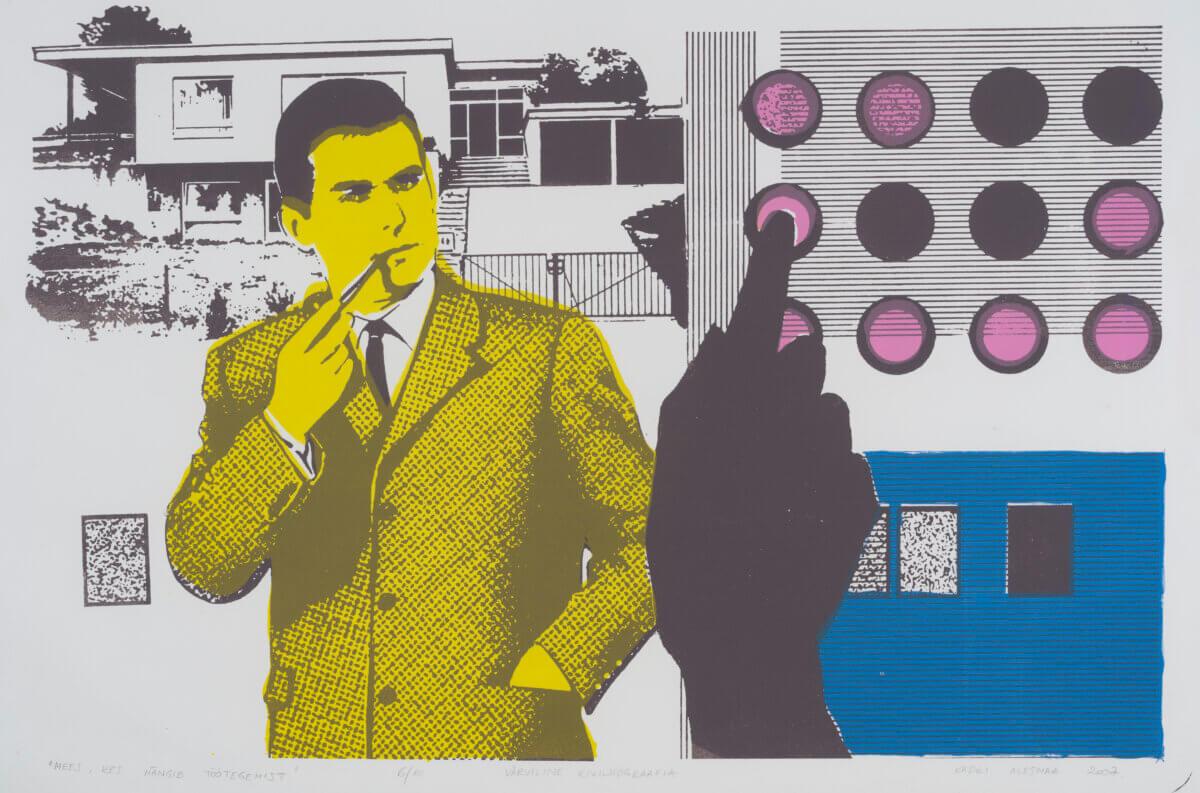 """66. Kadri Alesmaa """"Mees, kes mängib töötegemist"""", 2007."""